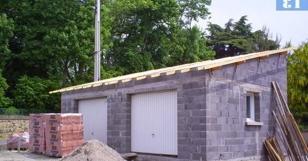 construction garage bois prix