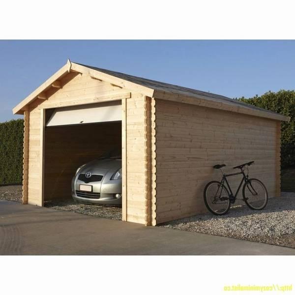 prix construction garage simple 20m2