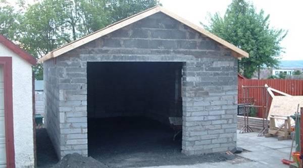 prix moyen construction garage
