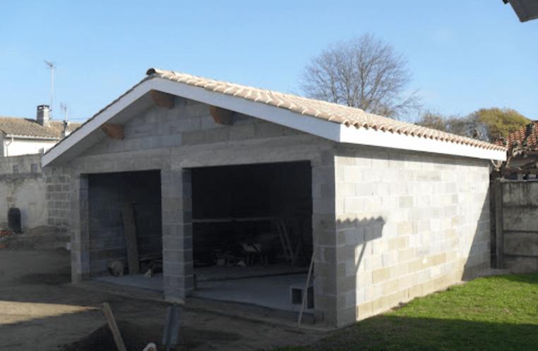 garage en parpaing 30m2