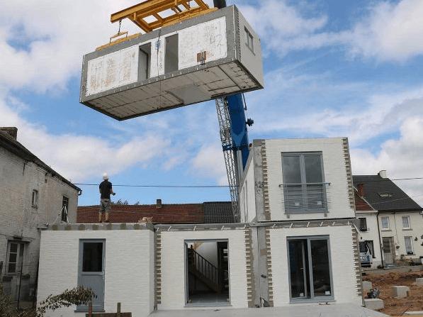 maison modulaire en béton