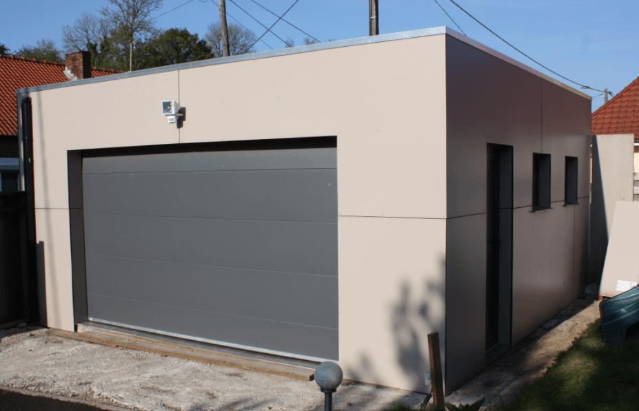 construction garage 20m2