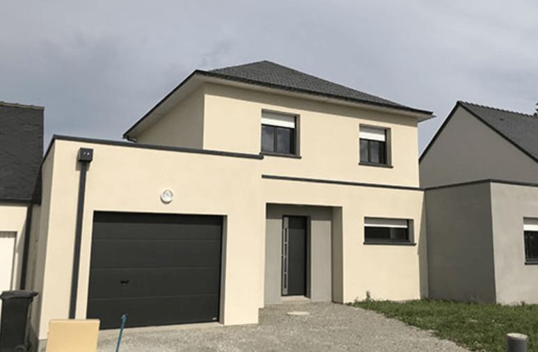 construction garage 30m2 accolé maison