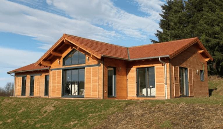 maison ossature bois clé en mains pas chère