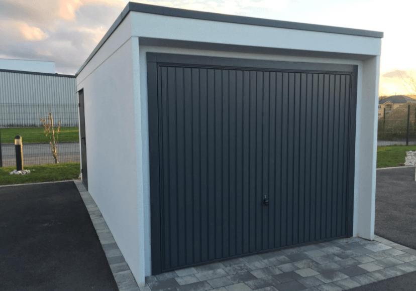 prix construction garage 20m2 toit plat