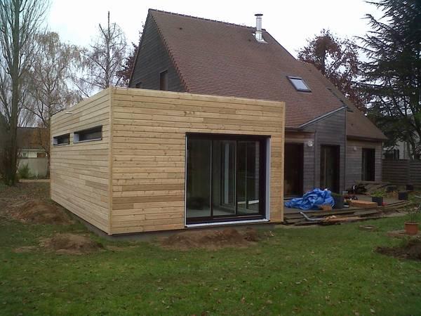 maison bois prix m2
