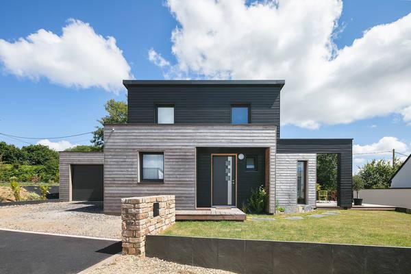 construction maison bois prix au m2