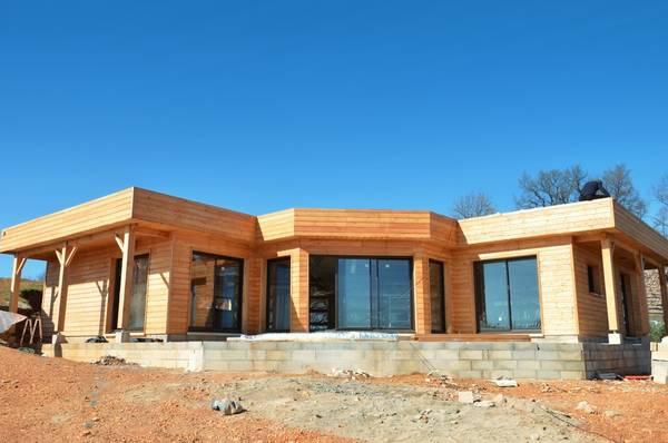 extension maison bois 20m2