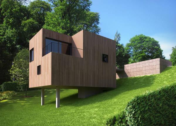 constructeur de maison en bois pas cher