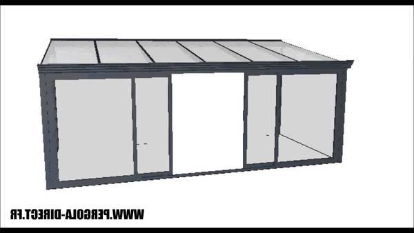 veranda aluminium en kit