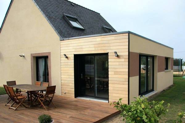 extension de maison en bois
